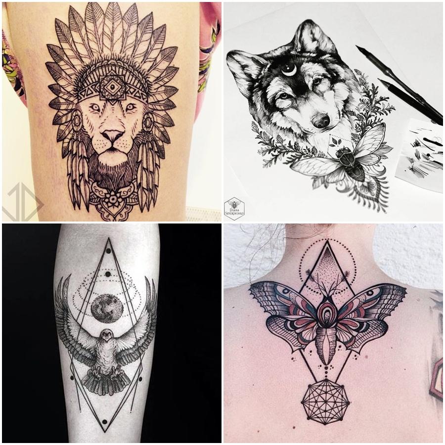 Tatuagens De Animais E Significados Blog Yacamim