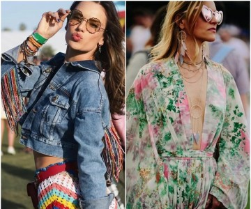 Nossos looks favoritos do Festival Coachella 2018