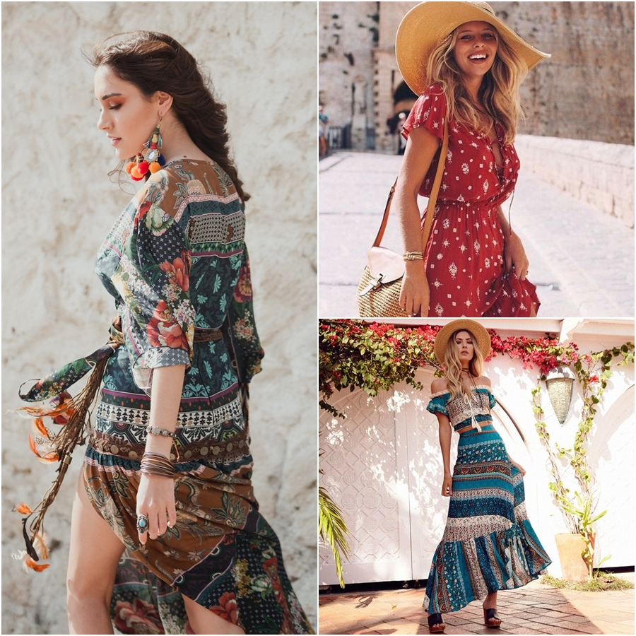 estilo boho chic looks