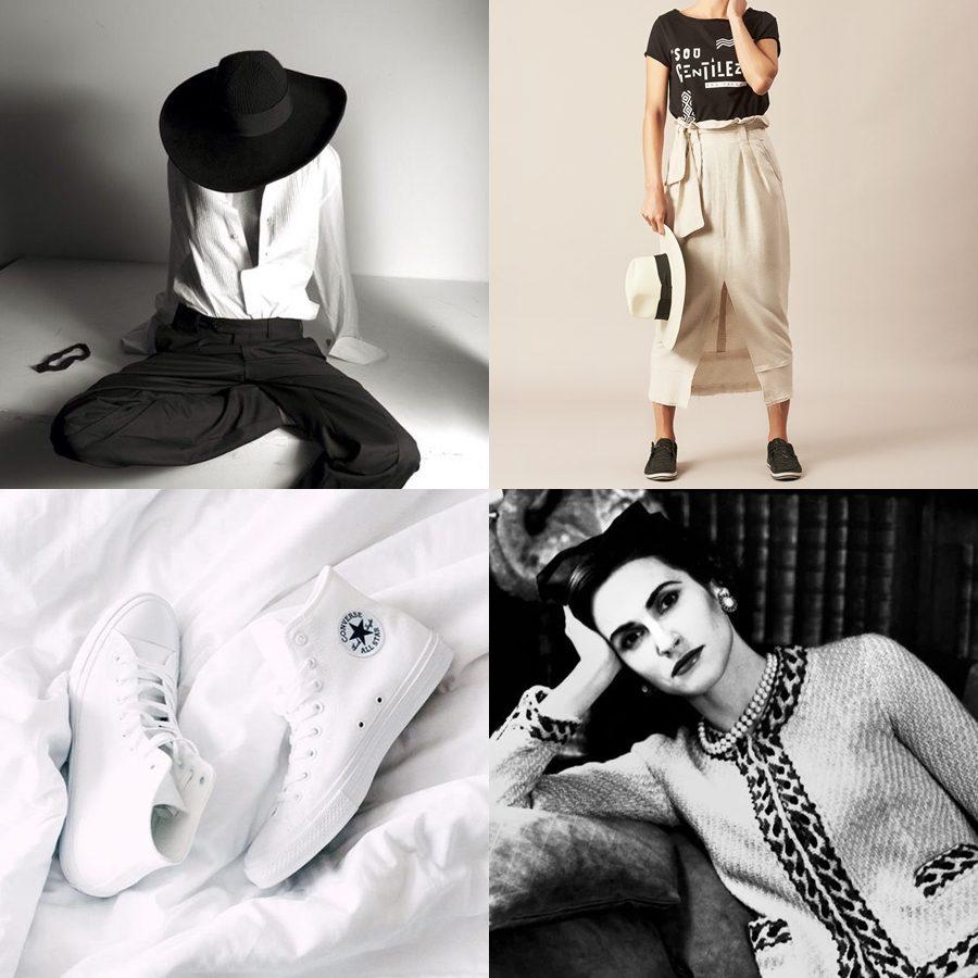 Looks em preto e branco - como usar e inspirações