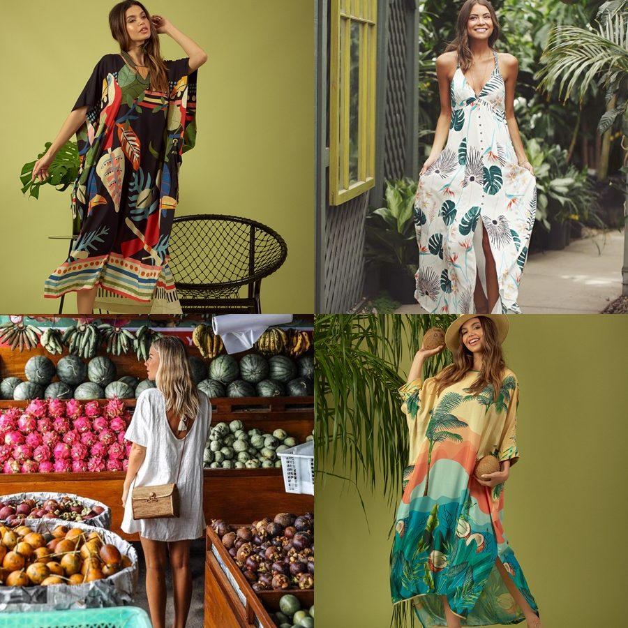 Como usar looks com inspiração tropical