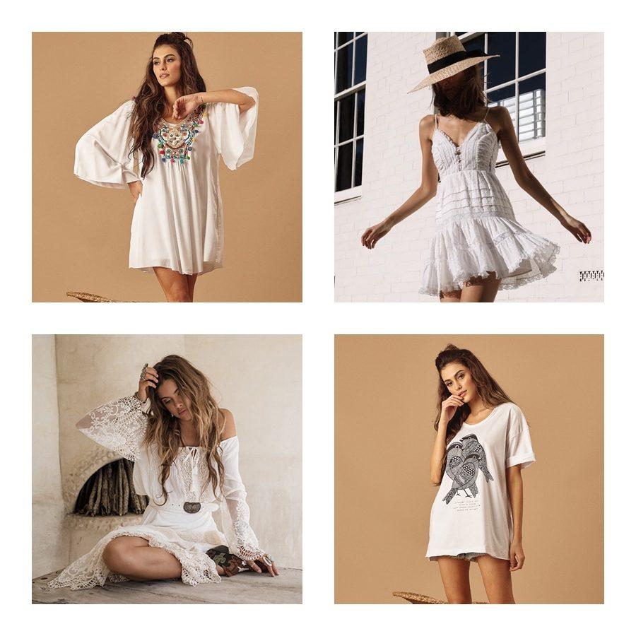 Looks total white: referências e inspirações