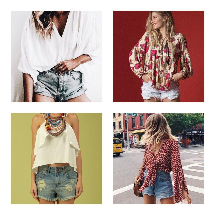 Como usar looks com shorts jeans - dicas e inspirações