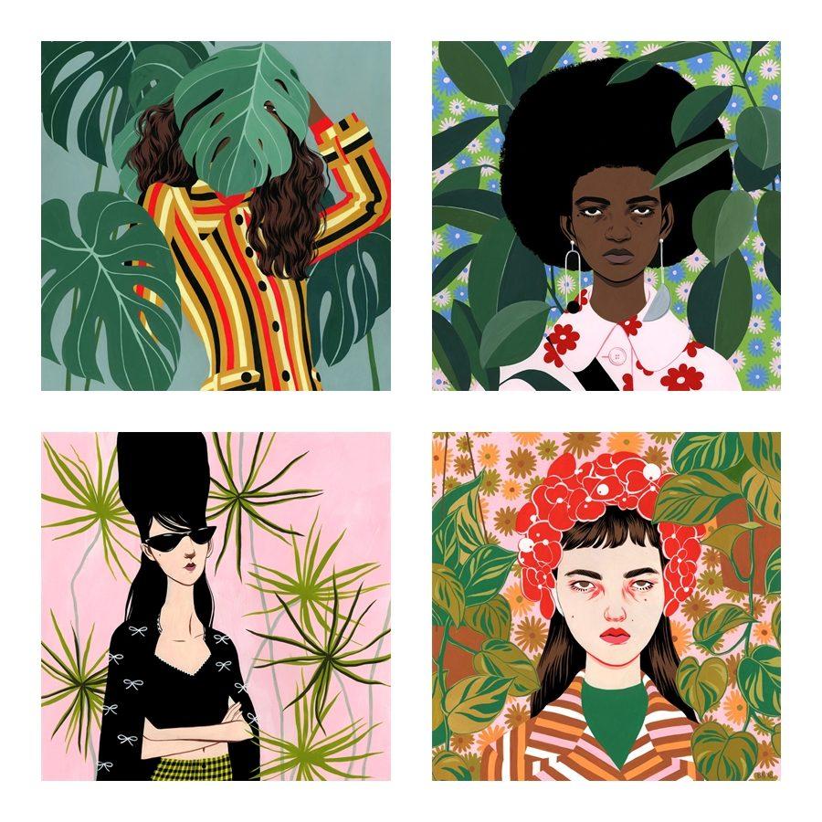 Arte e moda no trabalho de Bijou Karman