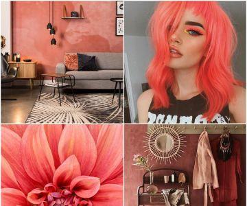 Pantone Living Coral: Aprenda a usar a cor do ano 2019 na decoração, makes, e moda