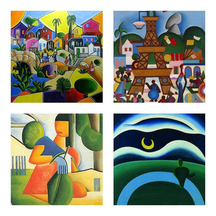 Exposição reúne obras raras de Tarsila do Amaral no MASP