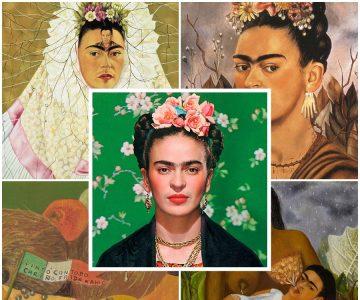 Frida Kahlo: um sentimento posto em cores
