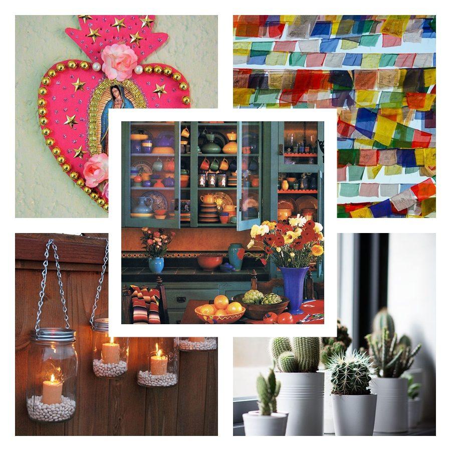 Inspire-se: decoração mexicana